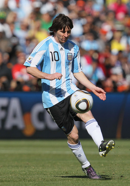 Lionel Messi - Argentina v South Korea: Group B - 2010 FIFA World Cup