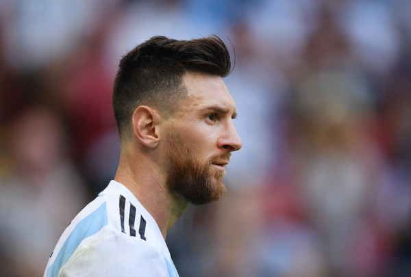 Lionel Messi Photos - 1022 of 13381. France vs. Argentina: Round Of 16 - 2018 FIFA World Cup Russia