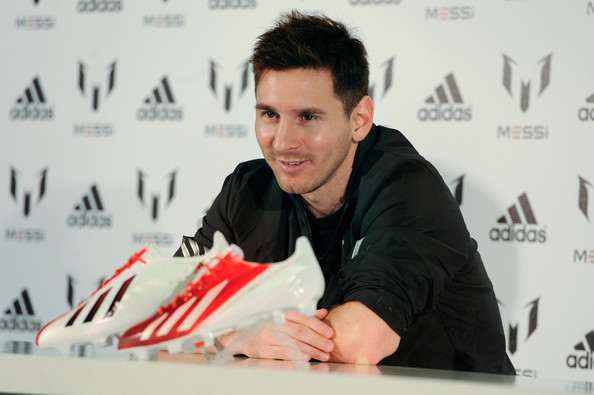 Lionel Messi Photos - 9502 of 13211. Leo Messi - adidas Shoot. In This  Photo  Lionel Messi. Leo Messi speaks at adidas press conference to mark  the launch ... 3709612b452df