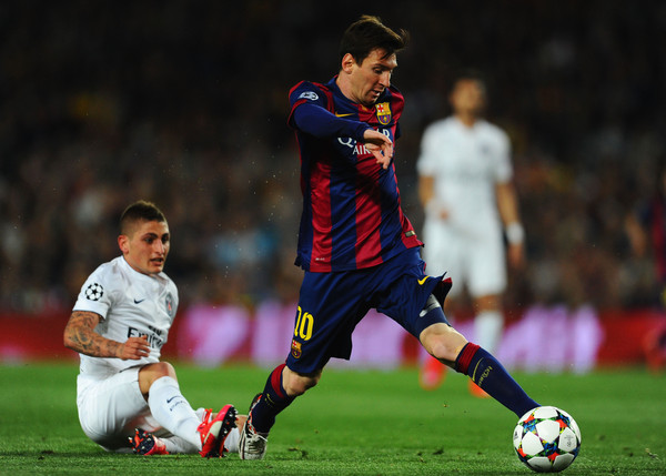Image result for Marco Verratti and Messi