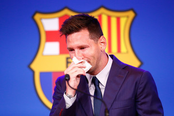 Lionel Messi European Best Pictures Of The Day - August 09