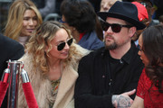 Nicole Richie and Benji Madden attend the Lionel Richie Hand And Footprint Ceremony at TCL Chinese Theatre on March 7, 2018 in Hollywood, California.