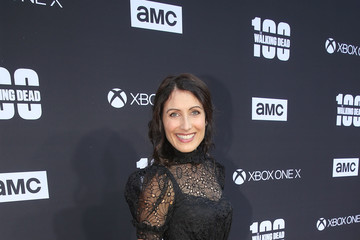Lisa Edelstein 'The Walking Dead' 100th Premiere and Party