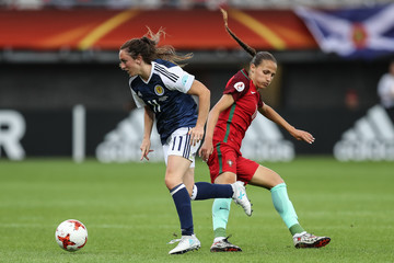 Lisa Evans Scotland v Portugal - UEFA Women's Euro 2017: Group D