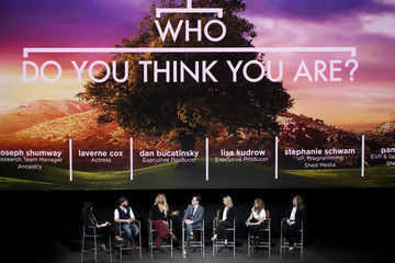 Lisa Kudrow Laverne Cox 'Who Do You Think You Are?' FYC Event