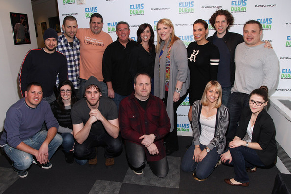 Morning show&; at z100 studio on february 22, 2012 in new york city