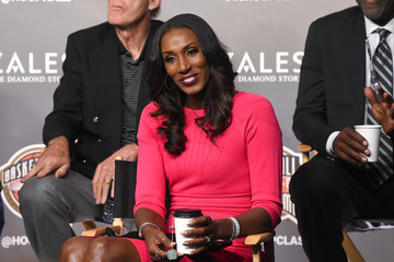 Lisa Leslie 2018 Naismith Memorial Hall of Fame Press Conference