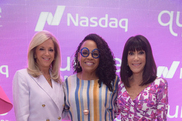 Lisa Price Qurate Retail Group Opening Bell Ceremony At Nasdaq MarketSite