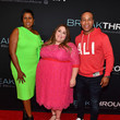 Lisa Rayam Advance Screening Of Breakthrough In Atlanta With Producer DeVon Franklin And Actress Chrissy Metz