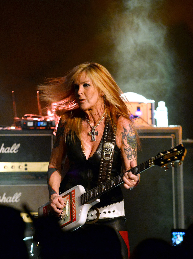Lita Ford In Lita Ford In Concert At Vinyl Inside The Hard