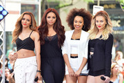 (L-R) Jade Thirlwall, Jesy Nelson, Leigh-Anne Pinnock and Perrie Edwards of Little Mix perform on NBC's 'Today' show on June 17, 2014 in New York, New York.