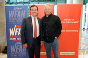John J Flanagan and Boomer Esiason attend the 2017 Organ Donor Enrollment Day lead by LiveOnNY at Brookfield Place on October 4, 2017 in New York City.