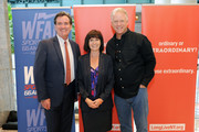 John J Flanagan, Helen Irving and Boomer Esiason attend the 2017 Organ Donor Enrollment Day lead by LiveOnNY at Brookfield Place on October 4, 2017 in New York City.
