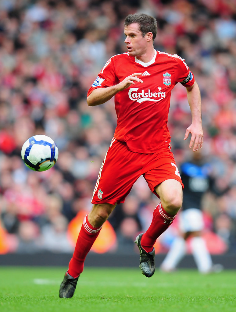 Jamie Carragher Photos Photos - Liverpool v Manchester ...