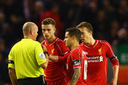 Jordan Henderson Philippe Coutinho Photos Photo