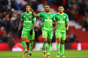 Jermain Defoe and Patrick van Aanholt Photos Photo