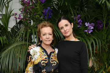 Livia Firth Caroline Scheufele Happy Hearts Foundation And Chopard Host Lunch - The 71st Annual Cannes Film Festival