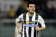 Andrea Lazzari of Udinese Calcio in action during the Serie A match between AS Livorno Calcio and Udinese Calcio at Stadio Armando Picchi on December 22, 2013 in Livorno, Italy.
