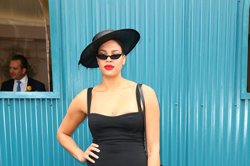Liz Cambage Celebrities Attend Melbourne Cup Day