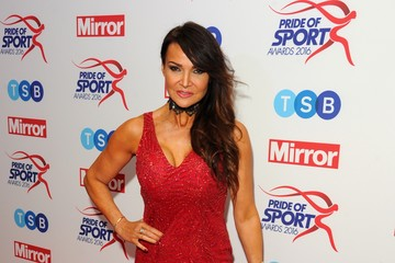 Lizzie Cundy Daily Mirror Pride of Sport Awards - Arrivals