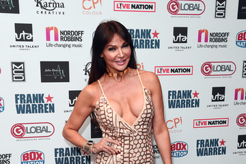 Lizzie Cundy The Nordoff Robbins Championship Boxing Dinner - Red Carpet Arrivals