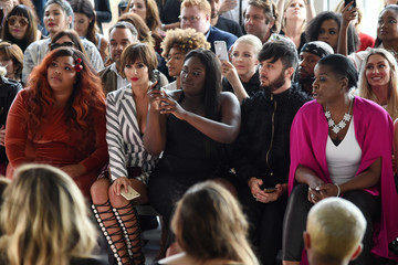Lizzo Christian Siriano - Front Row - September 2017 - New York Fashion Week: The Shows