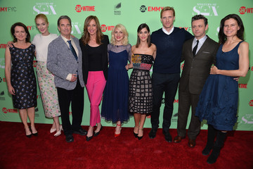 Lizzy Caplan Michael Sheen 'Ray Donovan' Panel in Hollywood — Part 2