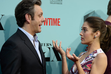 Lizzy Caplan Michael Sheen Screening of Showtime and Sony Pictures Television's 'Masters Of Sex' - Arrivals