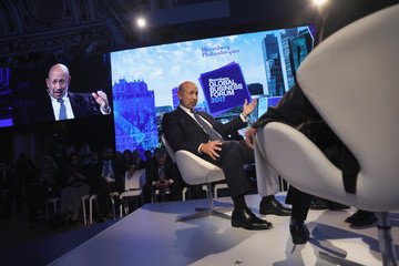 Lloyd Blankfein Bloomberg Global Business Forum Held in New York