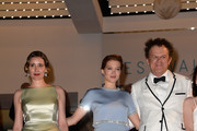 "Angeliki Papoulia,Lea Seydoux and John C. Reilly attend the Premiere of ""The Lobster"" during the 68th annual Cannes Film Festival on May 15, 2015 in Cannes, France."