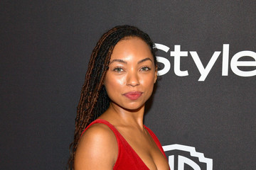 Logan Browning The 2019 InStyle And Warner Bros. 76th Annual Golden Globe Awards Post-Party - Red Carpet