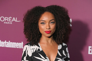 Logan Browning 2017 Entertainment Weekly Pre-Emmy Party - Red Carpet