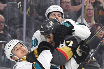 Logan Couture San Jose Sharks vs. Vegas Golden Knights