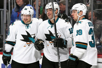 Logan Couture San Jose Sharks v Colorado Avalanche