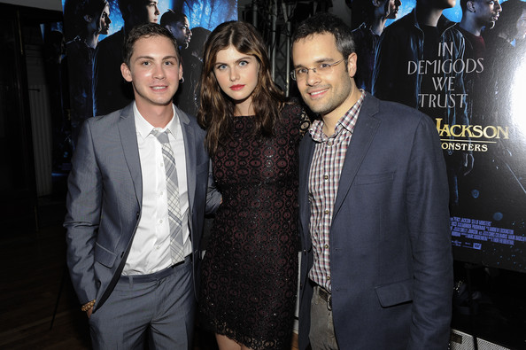logan lerman and alexandra daddario photos photos quotpercy