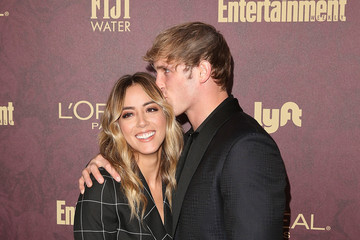 Logan Paul FIJI Water At Entertainment Weekly Pre-Emmy Party