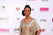 "Actress Aisha Tyler attends Logo's ""NewNowNext Awards"" 2012 at Avalon on April 5, 2012 in Hollywood, California."