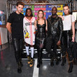 Loic Mabanza MOSCHINO [tv] H&M - Paris Launch Party Arrivals