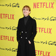 Lolita Chammah 'At Eternity's Gate' Photocall At Le Louvre In Paris