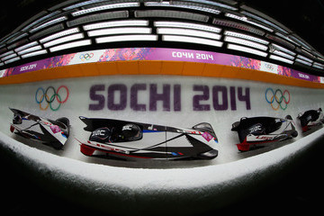 Lolo Jones Bobsleigh - Winter Olympics Day 11