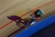 Mark Cavendish of Great Britain competes in the Mens Madison Chase on day four of the London Six Day Race at the Lee Valley Velopark Velodrome on October 27, 2017 in London, England.