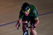 Mark Cavendish of Great Britain competes in the 2 Lap Madison Time Trial on day four of the London Six Day Race at the Lee Valley Velopark Velodrome on October 27, 2017 in London, England.