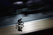 Mark Cavendish of Great Britain competes during the Madison Chase event on Day 4 of the London Six Day Race and the Lee Valley Velopark, London on October 27, 2017 in London, England.