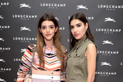 Calu Rivero (L) and Patricia Manfield attend the opening of Longchamp Fifth Avenue Flagship at Longchamp on May 3, 2018 in New York City.