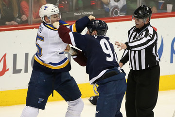 Lonnie St Louis Blues v Colorado Avalanche