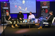 Kris Kristofferson, Recording Artist/Producer Don Was, Keith Wortman Blackbird Productions and Joseph Hudak Rolling Stone attend A Look Into The Life & Songs Of Kris Kristofferson at The Steps at WME on October 26, 2017 in Nashville, Tennessee.