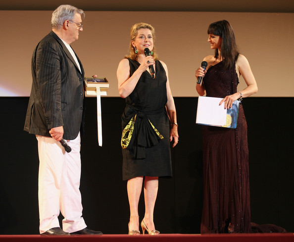 Lorena Bianchetti and Gerardo Sacco - 2009 Taormina Film Fest - Catherine Deneuve Cocktail & Taormina Art Award