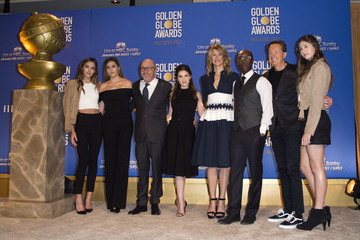 Lorenzo Soria Scarlet Stallone Nominations Announcement for the 74th Annual Golden Globe Awards