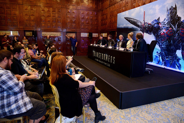 'Transformers: Age of Extinction' Press Conference