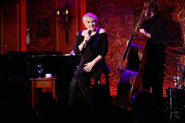 Lorna Luft At 54 Below: Barry Manilow Visits With Lorna Luft